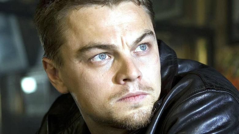 Leonardo DiCaprio Billy Costigan staring