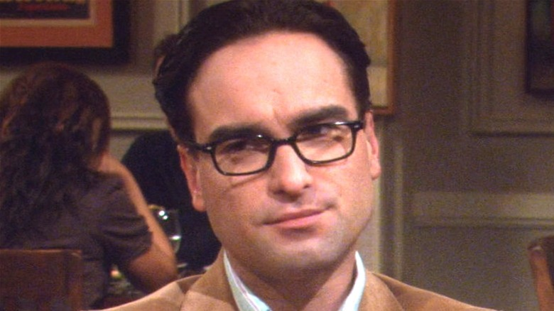 Leonard looking smug