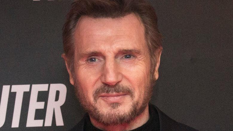 Liam Neeson Commuter premiere