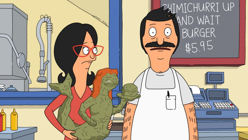 "Linda and Bob Belcher in ""Bob Belcher and the Terrible, Horrible, No Good, Very Bad Kids"""