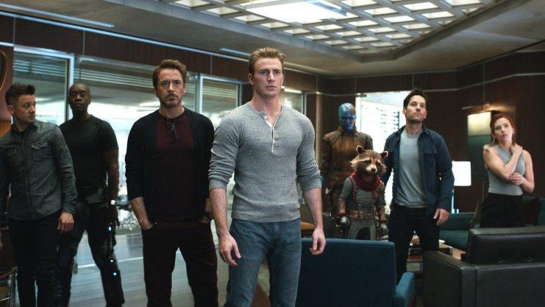 The team in Avengers: Endgame