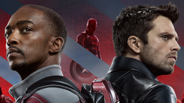 Marvel's The Falcon And The Winter Soldier, available to stream on Disney+