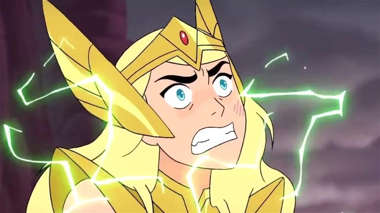 She-Ra in closeup