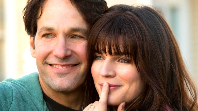 Paul Rudd and Aisling Bea in Netflix's Living with Yourself