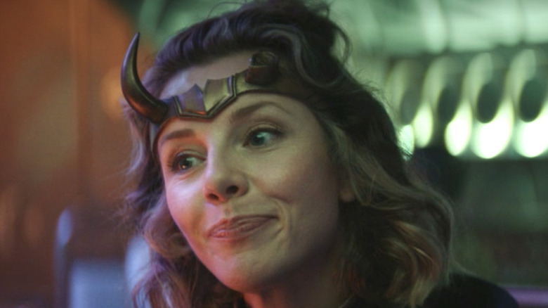 Sylvie in Marvel's Loki