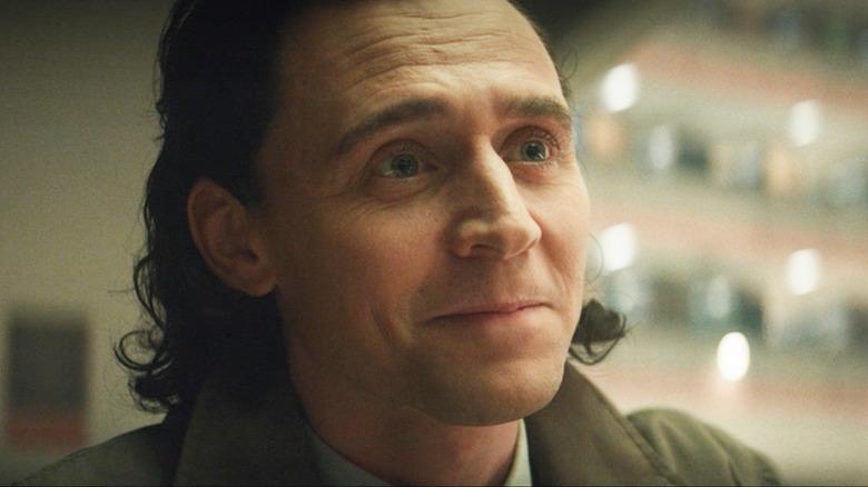 Loki slight happy smile