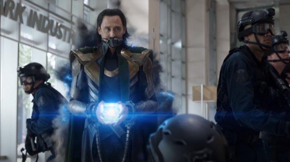 Tom Hiddleston as Loki in Avengers: Endgame