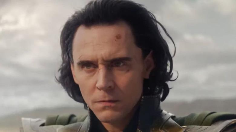 Loki looks up