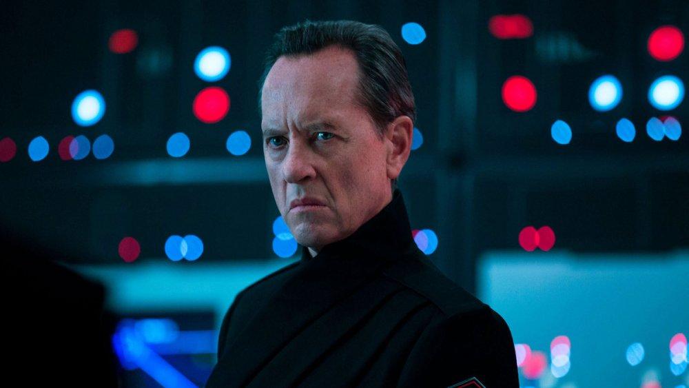 Richard E. Grant as Allegiant General Enric Pryde in Star Wars: The Rise of Skywalker