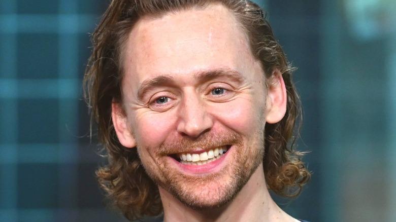 Tom Hiddleston smiling
