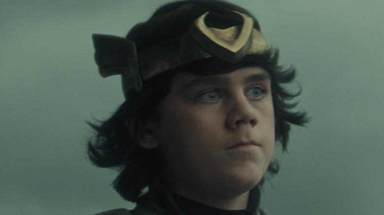 Kid Loki in the Void