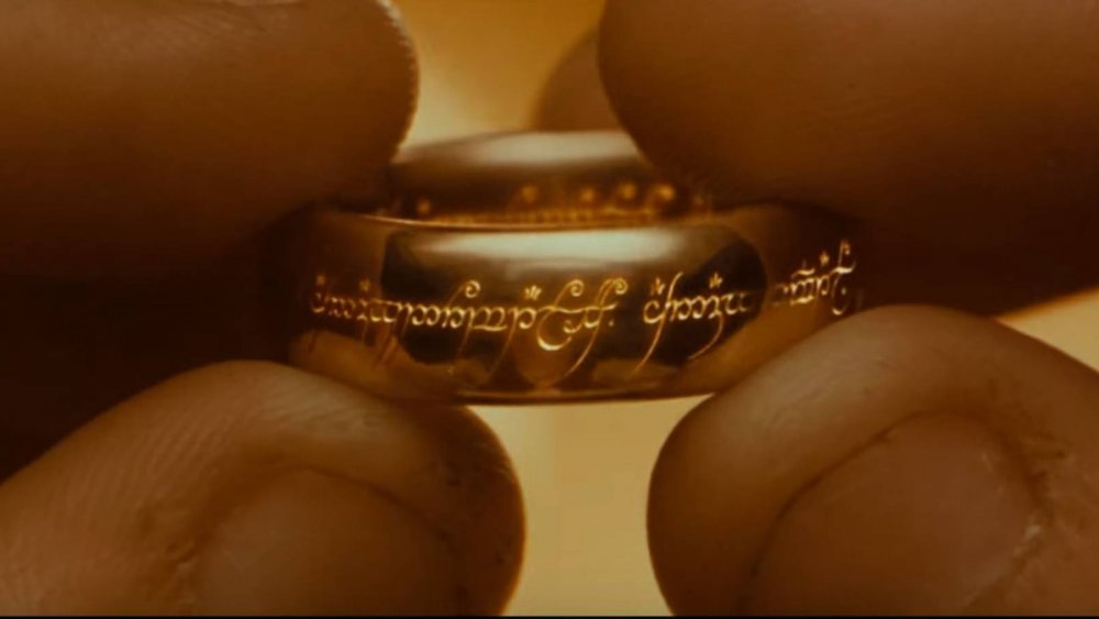 The One Ring, as seen in 2001's Lord of the Rings: The Fellowship of the Ring
