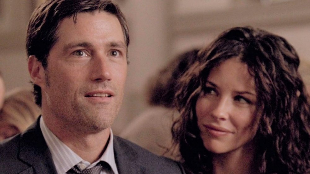 Matthew Fox and Evangeline Lilly in Lost
