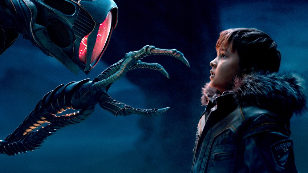 Maxwell Jenkins as Will Robinson in Netflix's Lost in Space