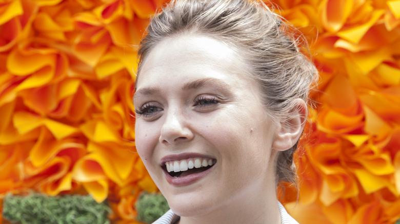 Elizabeth Olsen at event
