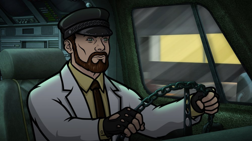 Dr. Krieger, as voiced by Lucky Yates, on Archer
