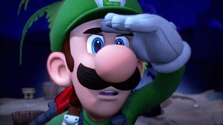 luigi's mansion, 4th, game, title, entry, nintendo, capcom, arcade, cabinet, dave & buster's, dave and buster's, sega