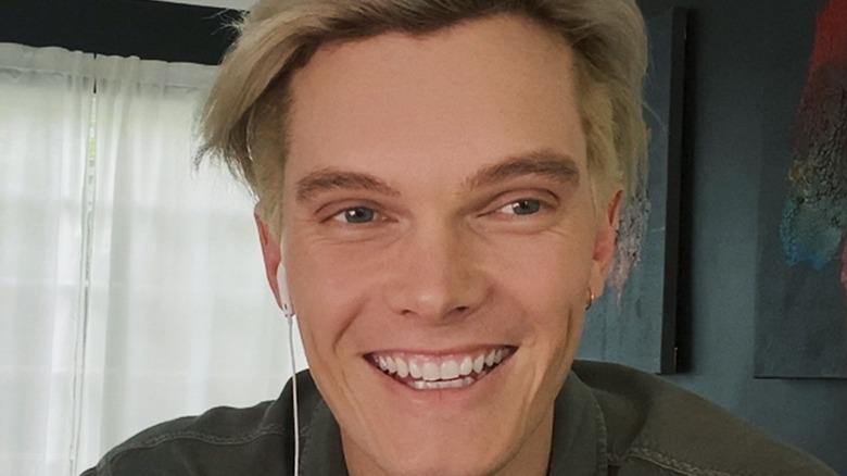 Declan smiling