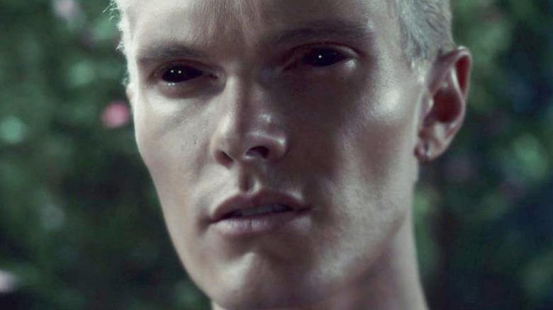 Jonathan Shadowhunters black demon eyes