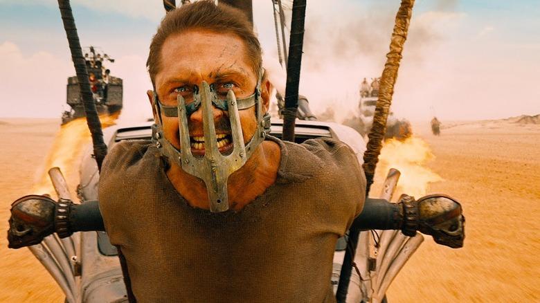 Tom Hardy as Max Rockatansky in Mad Max: Fury Road