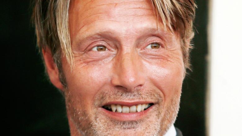 Mads Mikkelsen smiling