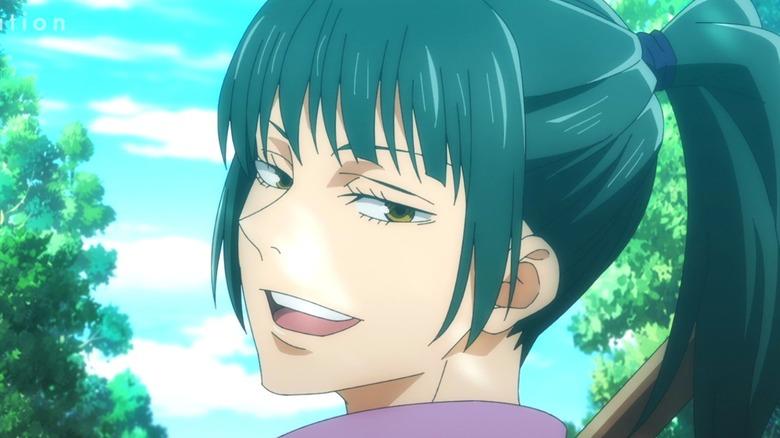 Jujutsu Kaisen Maki Patronizing Smile