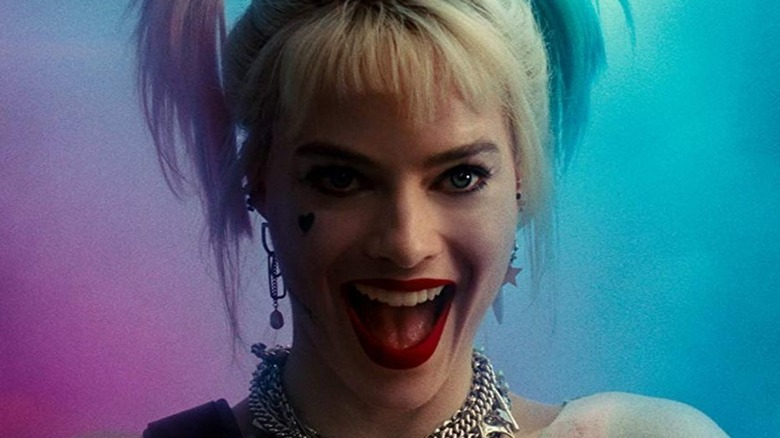 Harley Quinn pink and blue