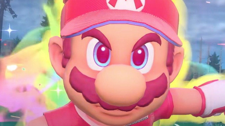 Charged up Mario