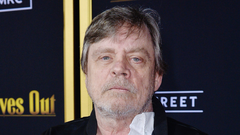 Mark Hamill at the Knives Out premiere
