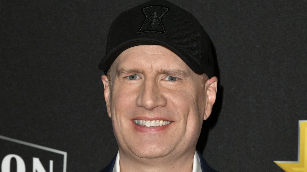 Kevin Feige wearing black hat