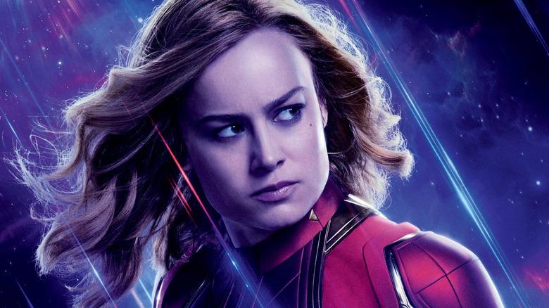 Brie Larson Captain Marvel Avengers Endgame poster