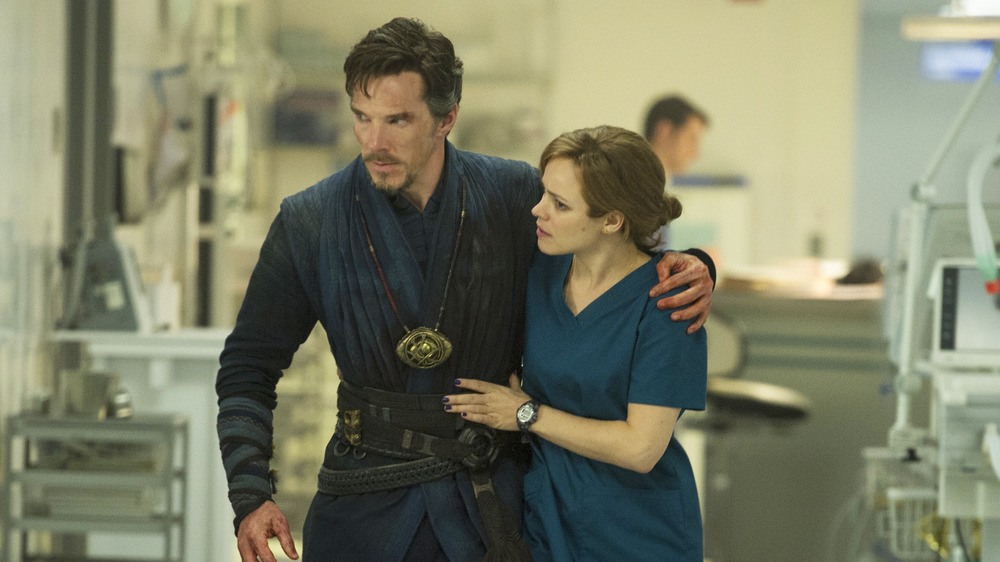Benedict Cumberbatch and Rachel McAdams star in 2016's Doctor Strange