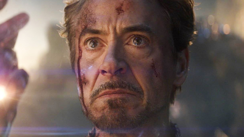 Tony Stark snap