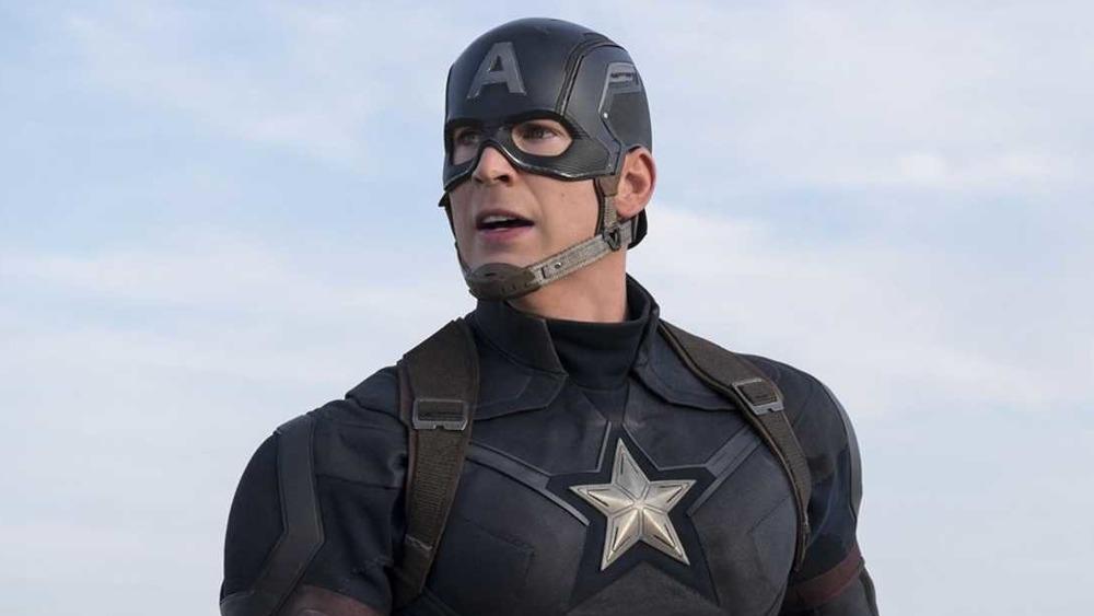 Captain American uniformed