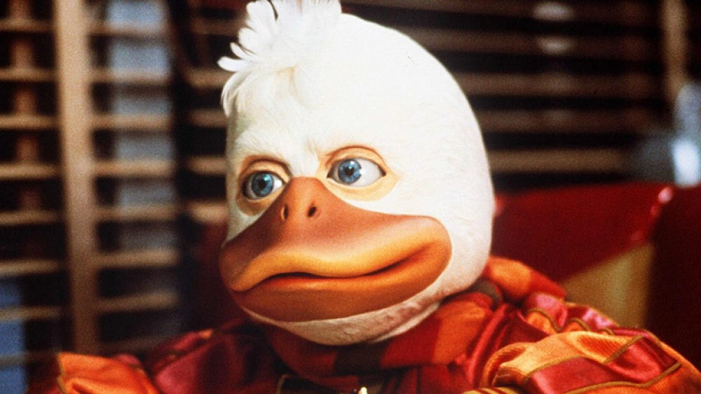 Howard the Duck in his 1986 movie