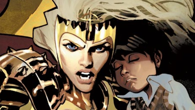 The Eternal Thena in Marvel's The Eternals