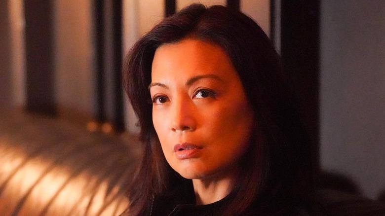 Ming-Na Wen as May on Agents of S.H.I.E.L.D.