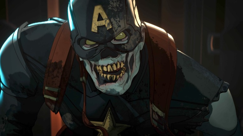 Zombie Captain on America Marvel's What If?