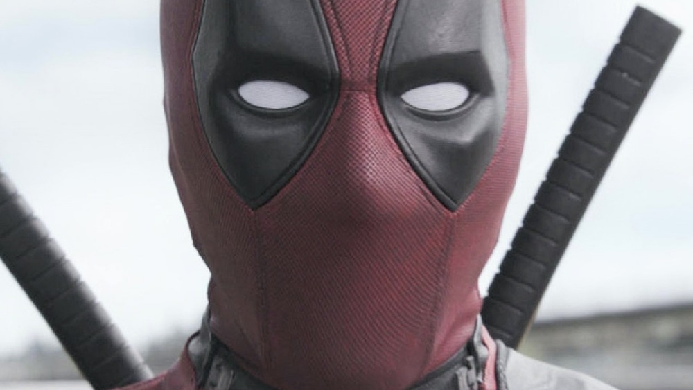 Deadpool glaring