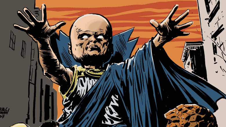 Uatu the Watcher with outstretched arms