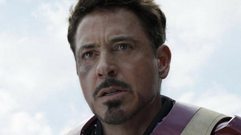 Robert Downey Jr. as Tony Stark in Avengers: Infinity War