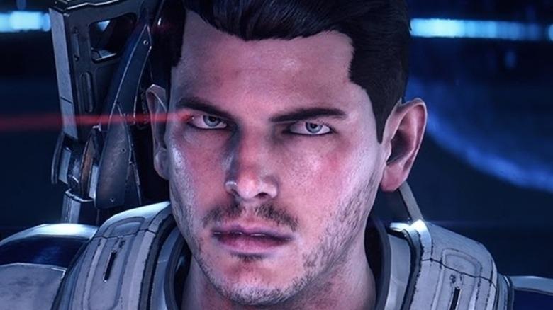 Mass Effect Andromeda protagonist glare