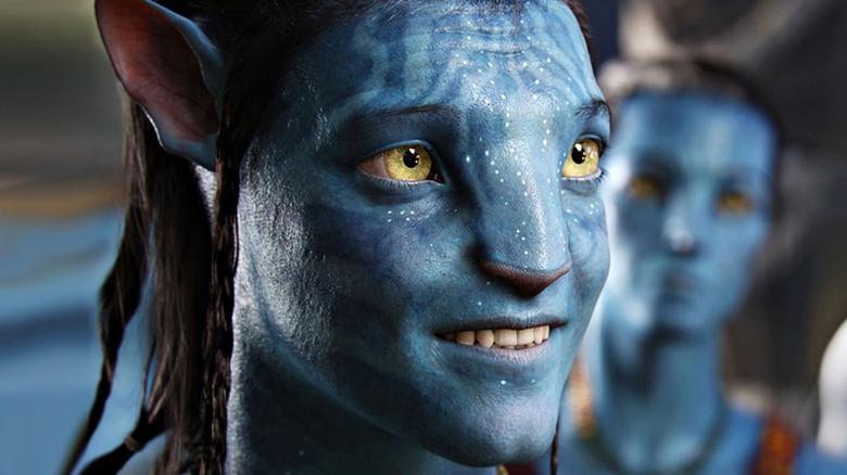 Jake Sully in Na'vi form