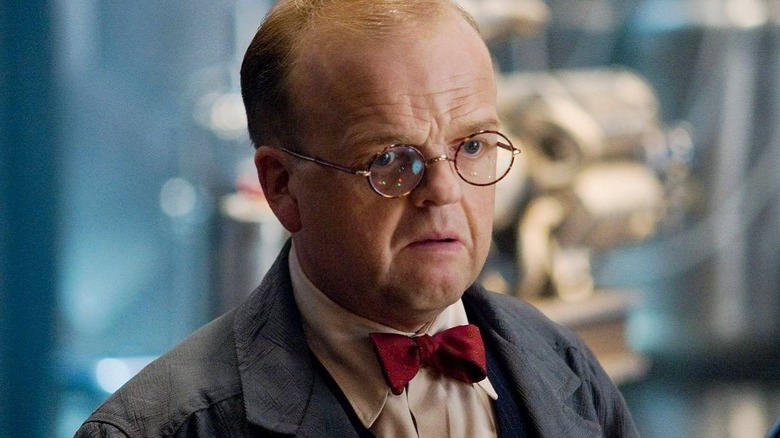 Toby Jones as Arnim Zola in Captain America: The First Avenger
