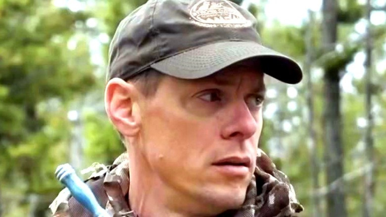 Steve Rinella wearing camo and hat