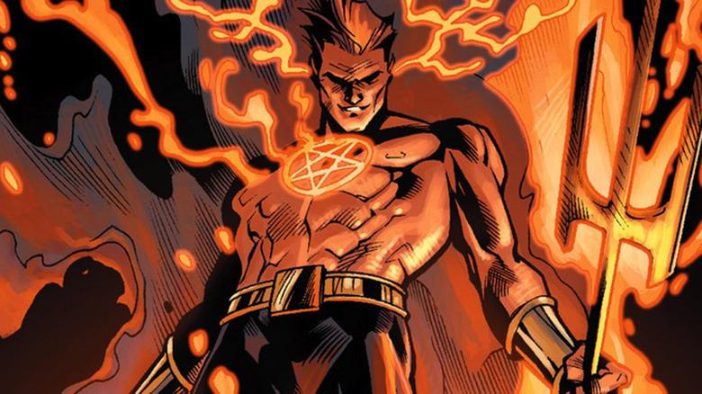 Daimon Hellstrom Marvel Comics
