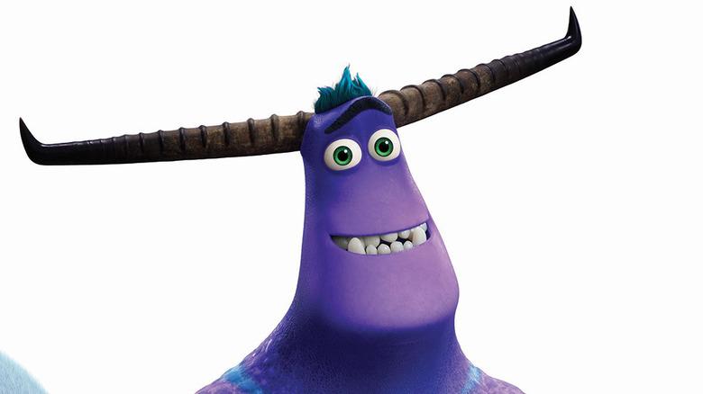 Tylor Tuskman smiling horns