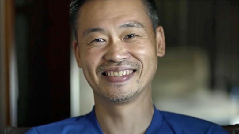 Keiji Inafune smiling