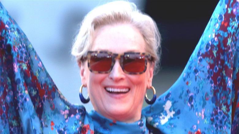 Meryl Streep smiling