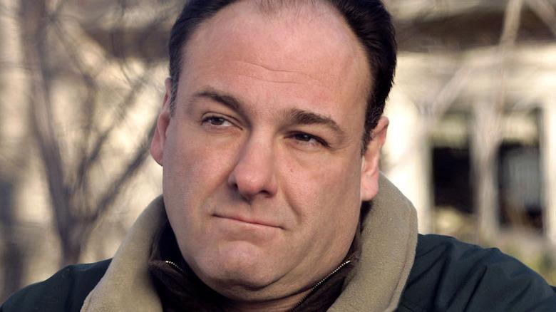 Tony Soprano outdoors